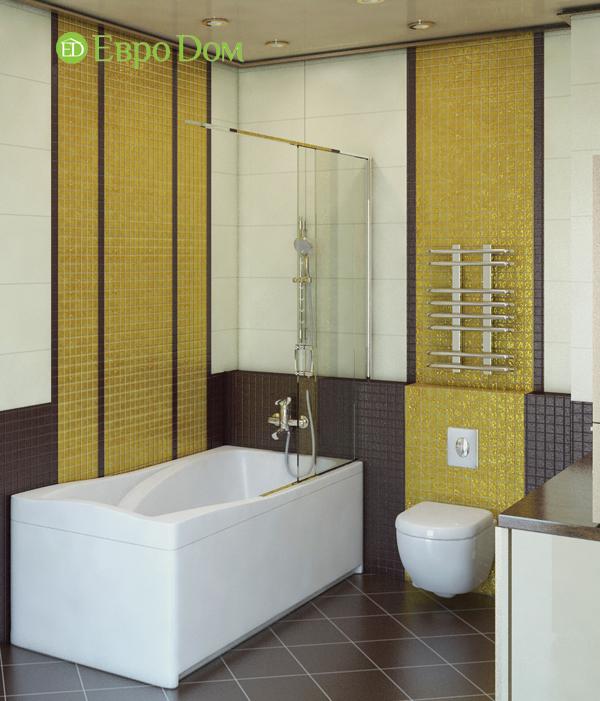 Дизайн интерьера 3-комнатной квартиры 100 кв. м в классическом стиле. Фото 011