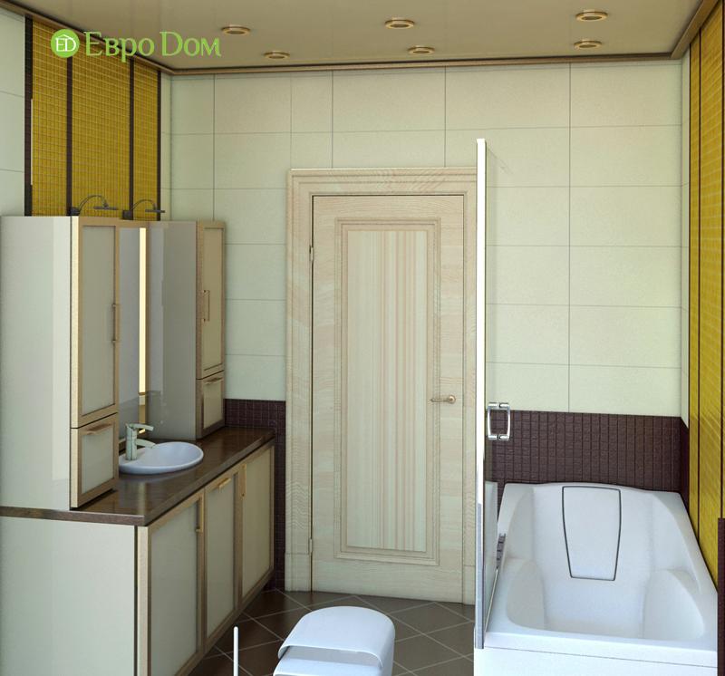 Дизайн интерьера 3-комнатной квартиры 100 кв. м в классическом стиле. Фото 012