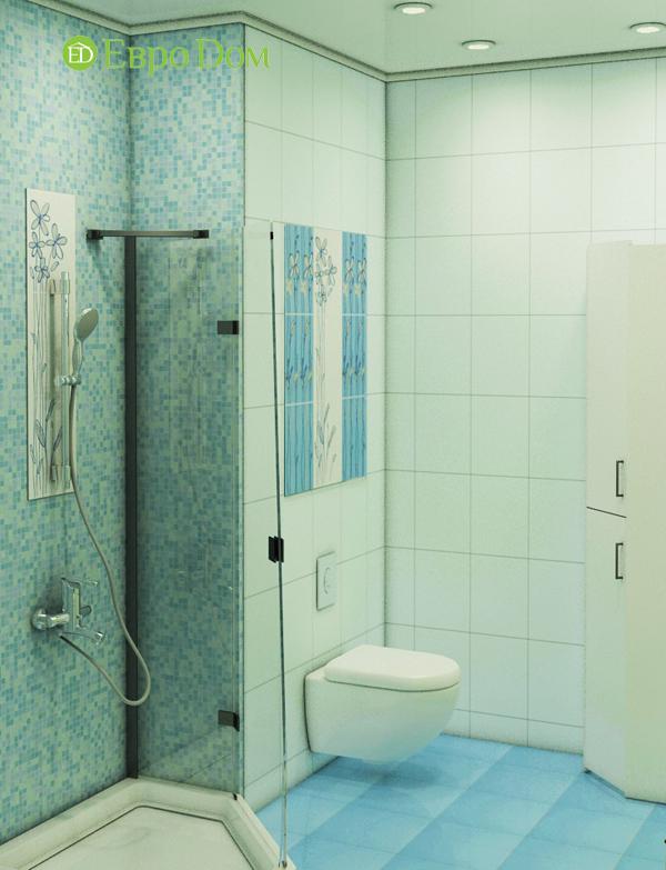 Дизайн интерьера 3-комнатной квартиры 100 кв. м в классическом стиле. Фото 013