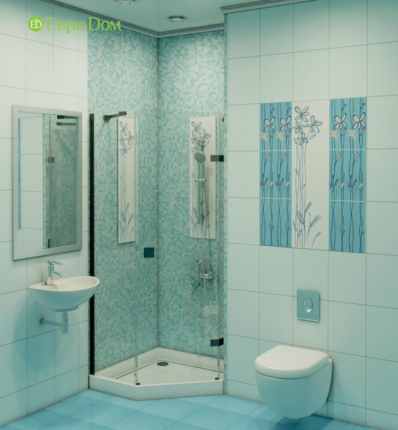 Дизайн интерьера 3-комнатной квартиры 100 кв. м в классическом стиле. Фото 014