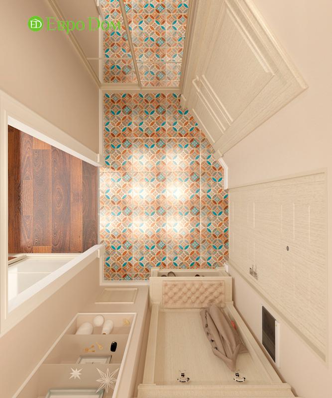 Дизайн 3-комнатной квартиры 83 кв. м в классическом стиле. Фото 04