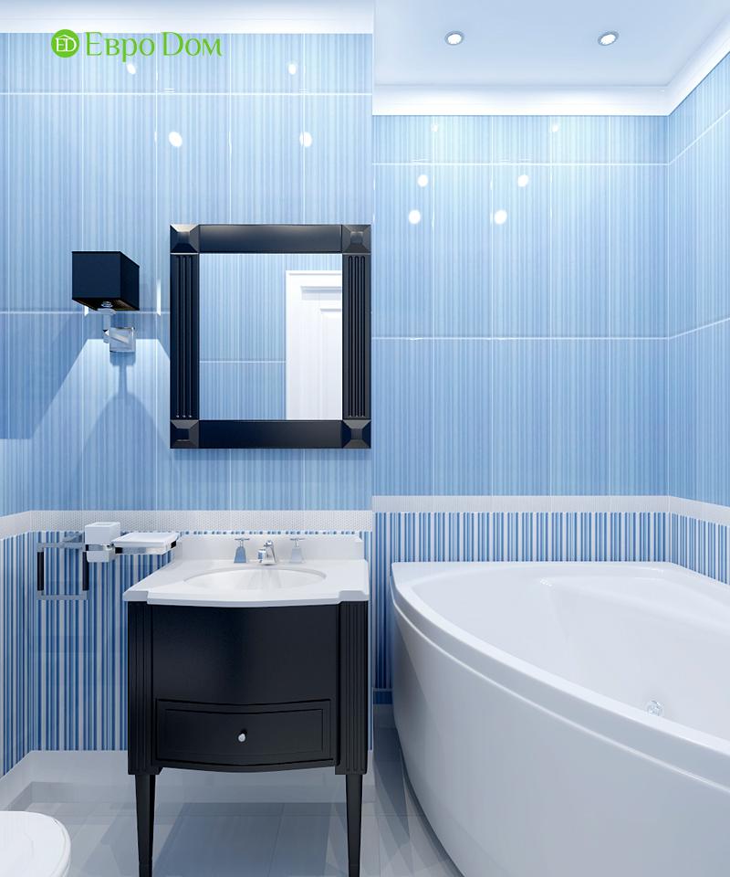 Дизайн 3-комнатной квартиры 83 кв. м в классическом стиле. Фото 010
