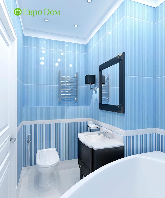 Дизайн 3-комнатной квартиры 83 кв. м в классическом стиле. Фото 011