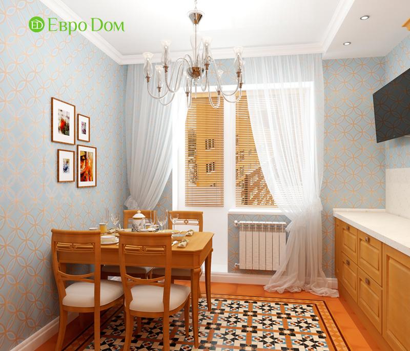 Дизайн 3-комнатной квартиры 83 кв. м в классическом стиле. Фото 014