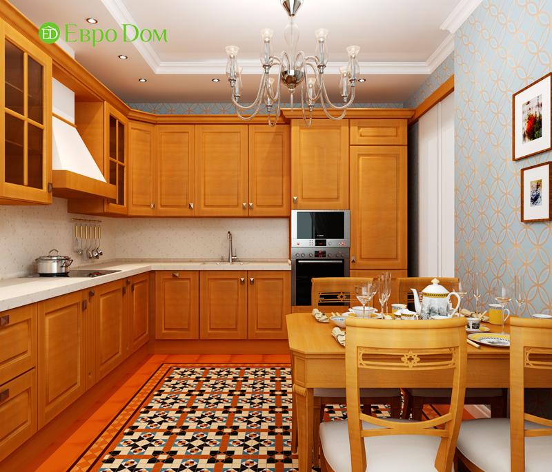 Дизайн 3-комнатной квартиры 83 кв. м в классическом стиле. Фото 015