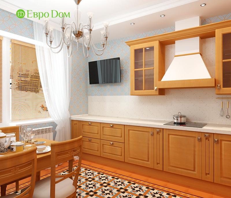 Дизайн 3-комнатной квартиры 83 кв. м в классическом стиле. Фото 016