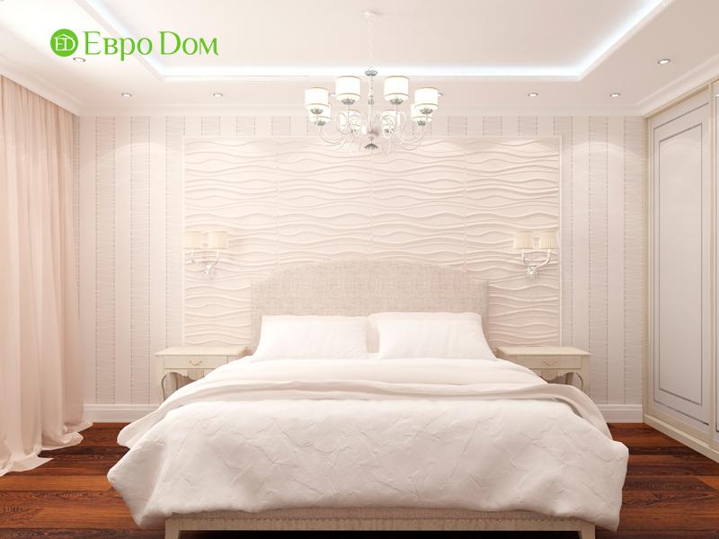 Дизайн 3-комнатной квартиры 83 кв. м в классическом стиле. Фото 018