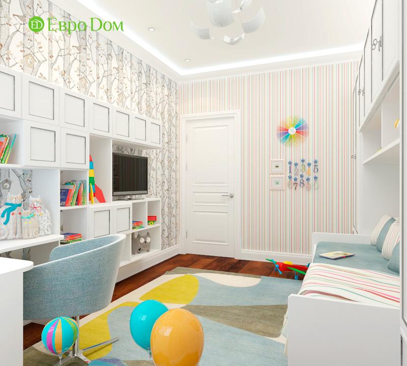 Дизайн 3-комнатной квартиры 83 кв. м в классическом стиле. Фото 019
