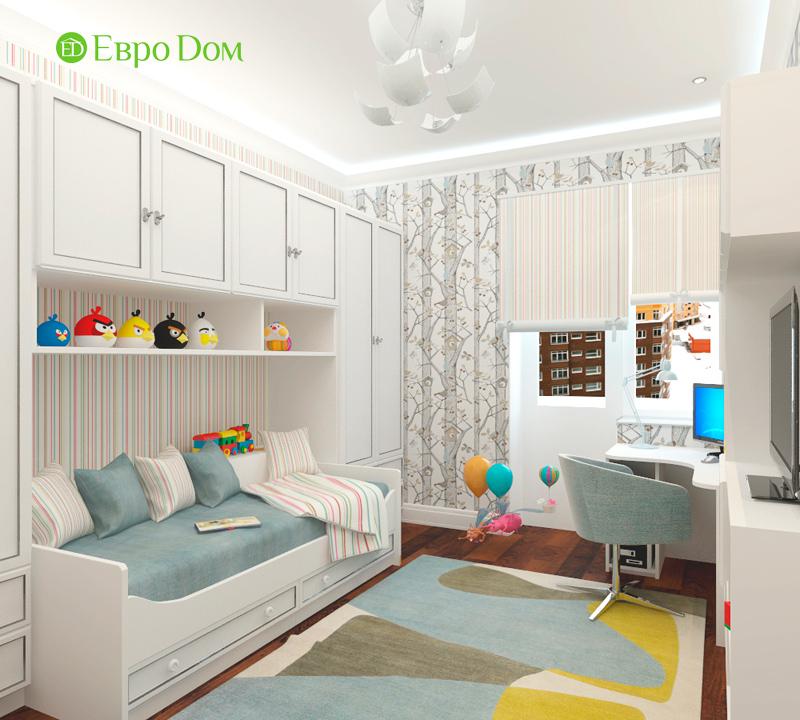 Дизайн 3-комнатной квартиры 83 кв. м в классическом стиле. Фото 020