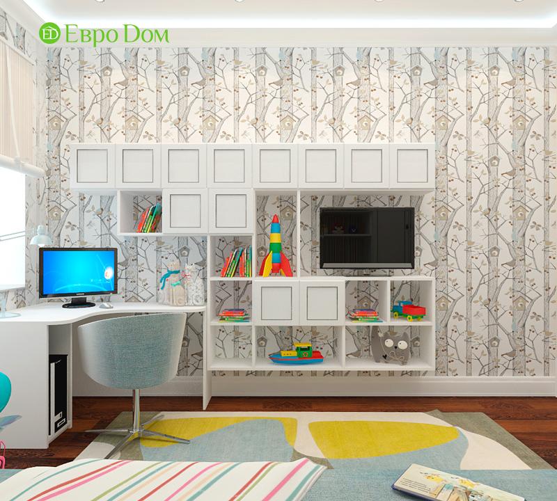 Дизайн 3-комнатной квартиры 83 кв. м в классическом стиле. Фото 021
