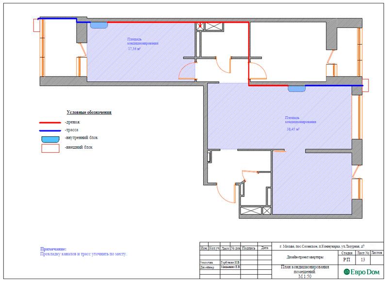 Дизайн 3-комнатной квартиры 83 кв. м в классическом стиле. Фото 034