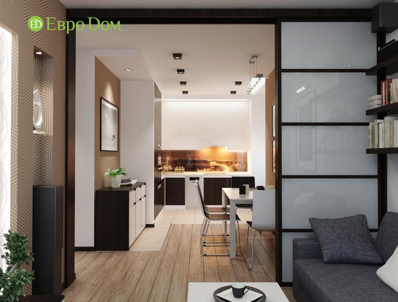 Дизайн 3-комнатной квартиры 87 кв. м в современном стиле. Фото 02