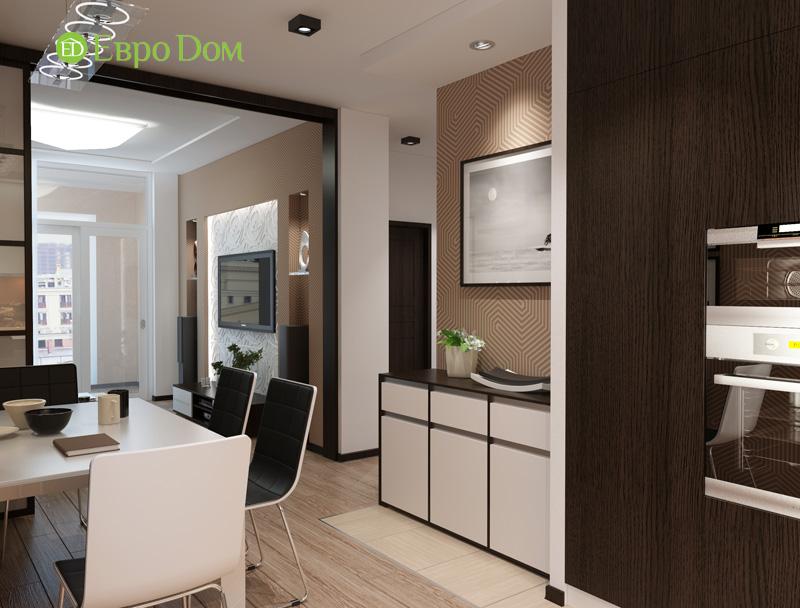 Дизайн 3-комнатной квартиры 87 кв. м в современном стиле. Фото 04