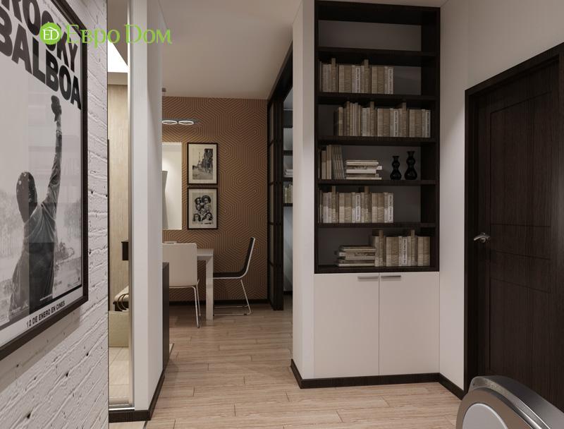 Дизайн 3-комнатной квартиры 87 кв. м в современном стиле. Фото 05