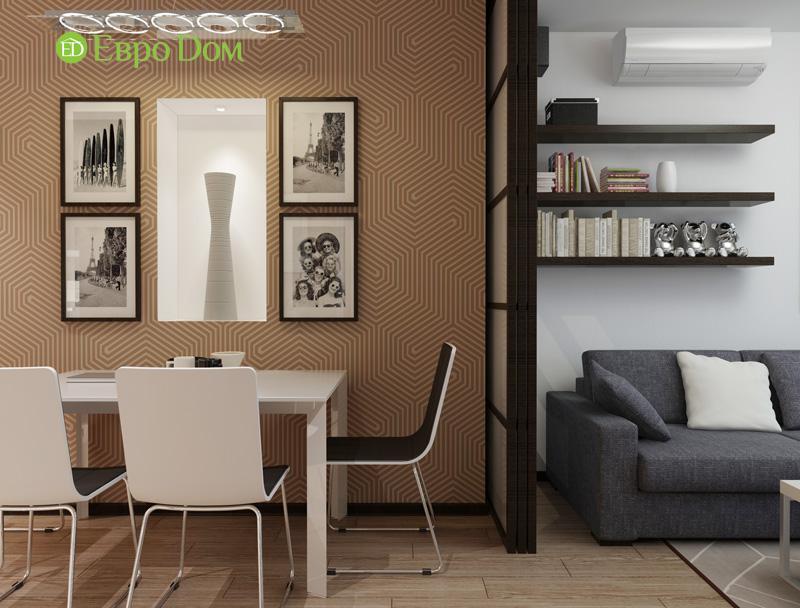 Дизайн 3-комнатной квартиры 87 кв. м в современном стиле. Фото 07
