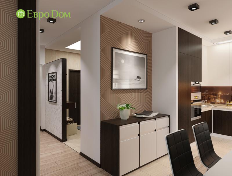 Дизайн 3-комнатной квартиры 87 кв. м в современном стиле. Фото 010