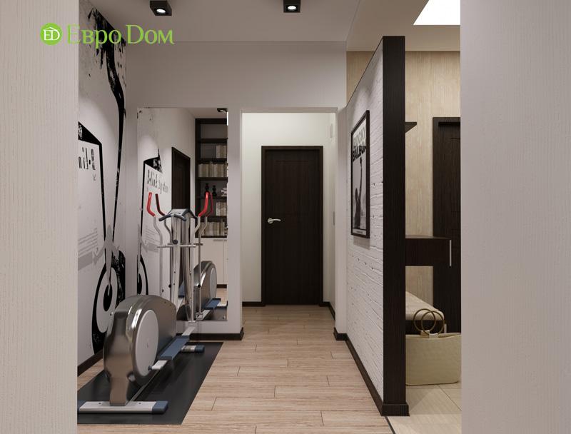 Дизайн 3-комнатной квартиры 87 кв. м в современном стиле. Фото 011