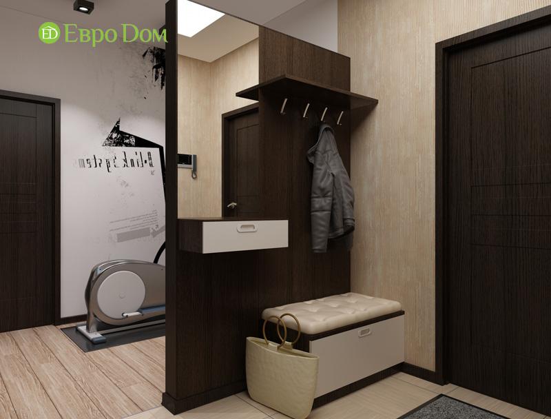 Дизайн 3-комнатной квартиры 87 кв. м в современном стиле. Фото 012
