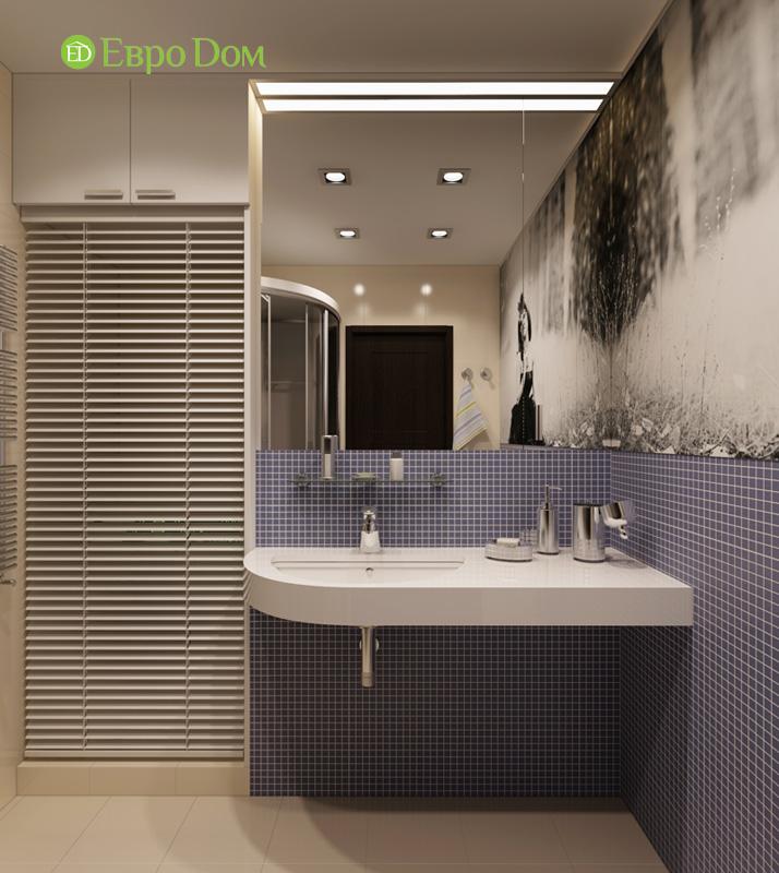 Дизайн 3-комнатной квартиры 87 кв. м в современном стиле. Фото 017