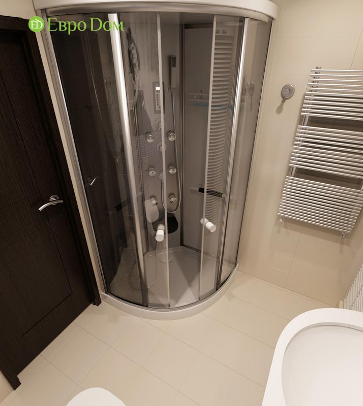 Дизайн 3-комнатной квартиры 87 кв. м в современном стиле. Фото 019