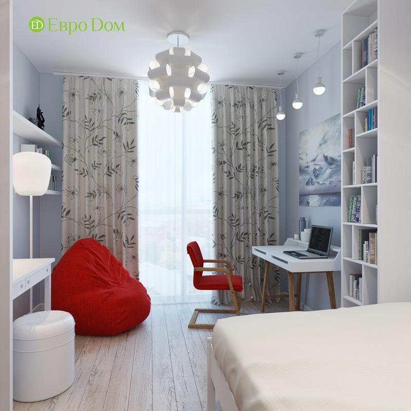 Дизайн 3-комнатной квартиры 87 кв. м в современном стиле. Фото 021