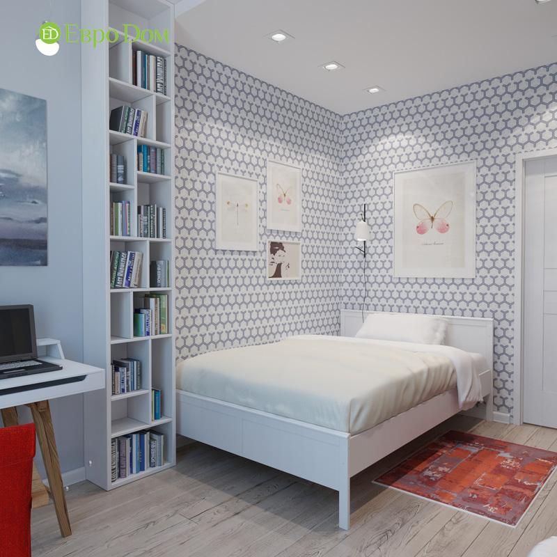 Дизайн 3-комнатной квартиры 87 кв. м в современном стиле. Фото 023