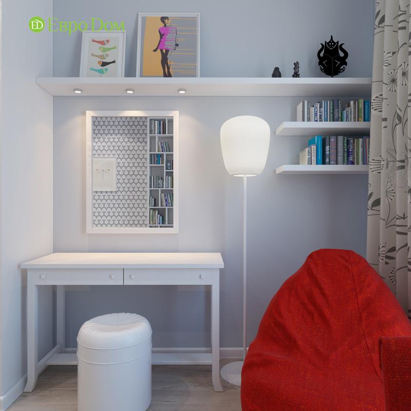 Дизайн 3-комнатной квартиры 87 кв. м в современном стиле. Фото 024