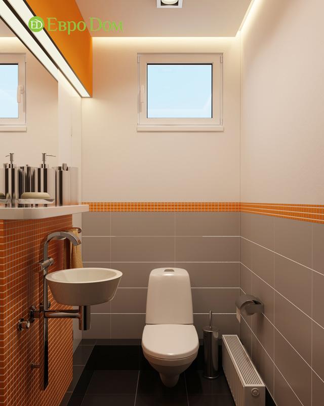 Дизайн 3-комнатной квартиры 87 кв. м в современном стиле. Фото 025