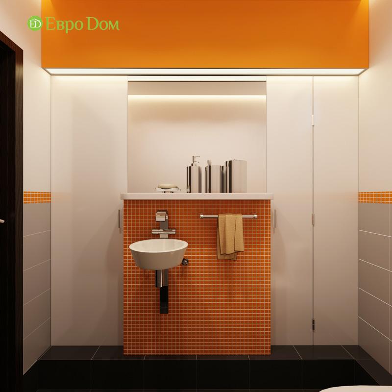 Дизайн 3-комнатной квартиры 87 кв. м в современном стиле. Фото 026