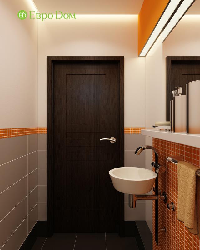 Дизайн 3-комнатной квартиры 87 кв. м в современном стиле. Фото 027