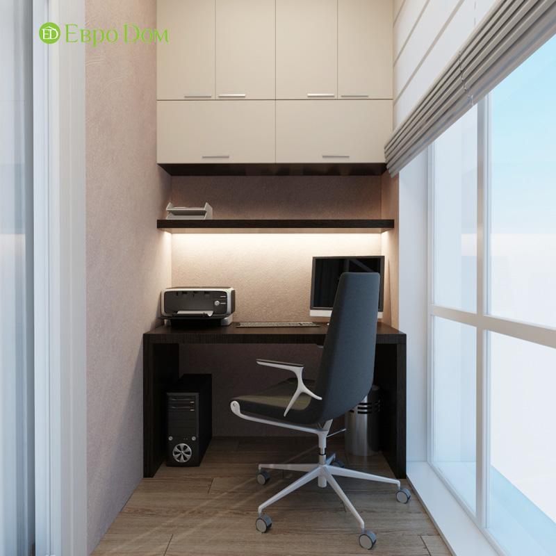 Дизайн 3-комнатной квартиры 87 кв. м в современном стиле. Фото 029
