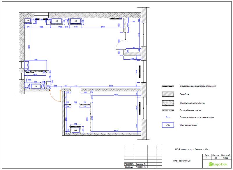 Дизайн 3-комнатной квартиры 87 кв. м в современном стиле. Фото 030