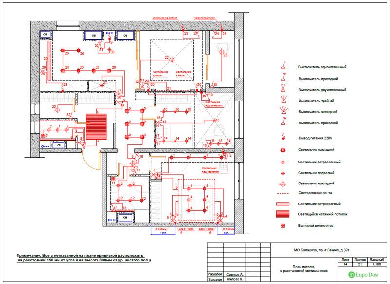 Дизайн 3-комнатной квартиры 87 кв. м в современном стиле. Фото 043