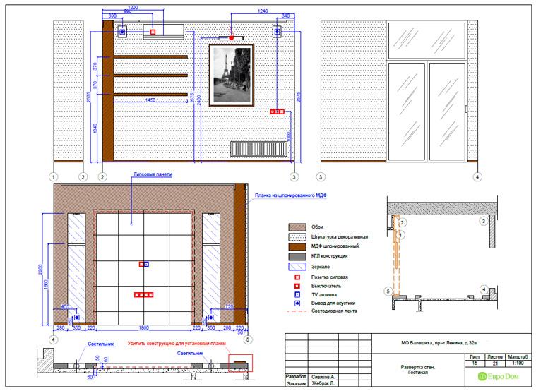 Дизайн 3-комнатной квартиры 87 кв. м в современном стиле. Фото 044