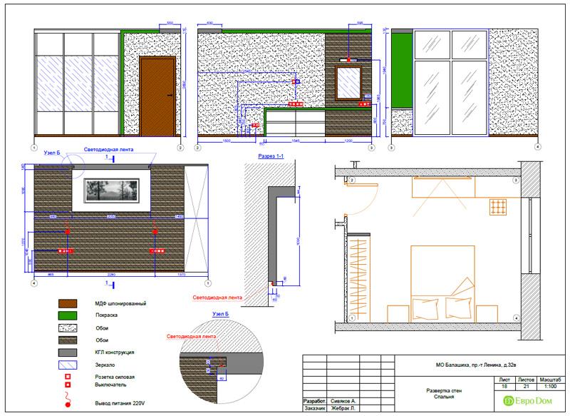 Дизайн 3-комнатной квартиры 87 кв. м в современном стиле. Фото 048
