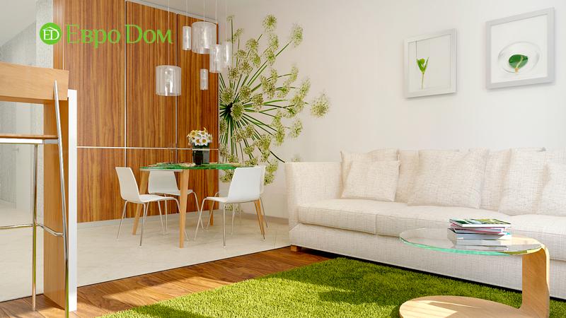 Дизайн 3-комнатной квартиры 73 кв. м.  Современный стиль. Фото 04