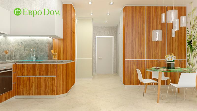 Дизайн 3-комнатной квартиры 73 кв. м.  Современный стиль. Фото 06