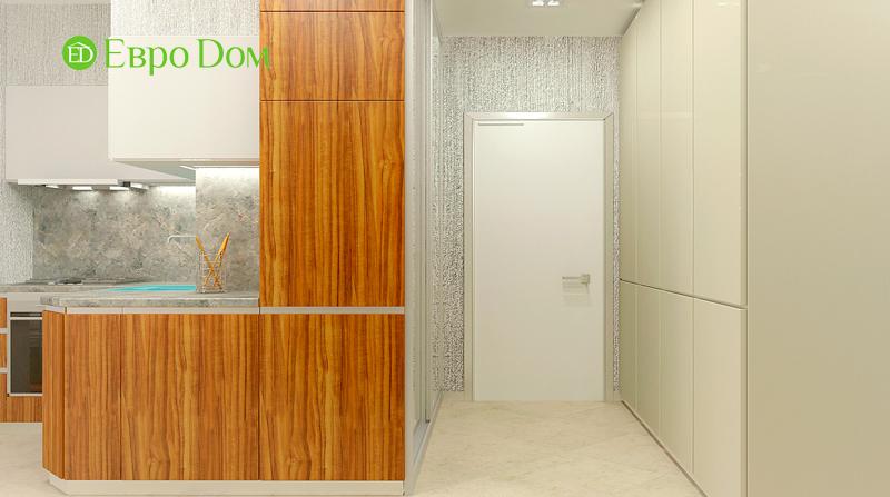 Дизайн 3-комнатной квартиры 73 кв. м.  Современный стиль. Фото 07