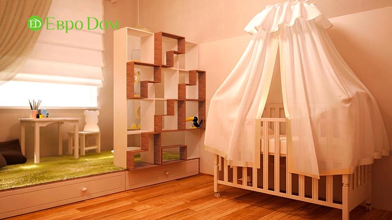 Дизайн 3-комнатной квартиры 73 кв. м.  Современный стиль. Фото 011