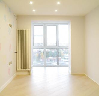 Ремонт трехкомнатной квартиры 75 кв. м в современном стиле. Фото проекта