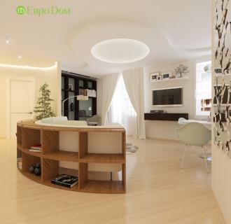 Дизайн трехкомнатной квартиры 88 кв. м в стиле ар-деко. Фото проекта