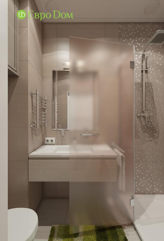 Дизайн интерьера 3-комнатной квартиры в стиле фьюжн. Фото 05