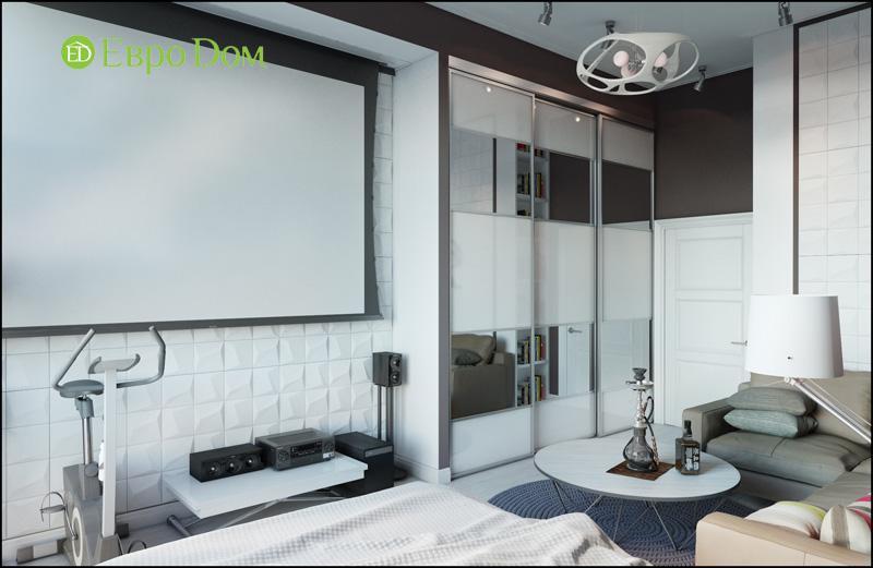 Дизайн интерьера 3-комнатной квартиры в стиле фьюжн. Фото 06
