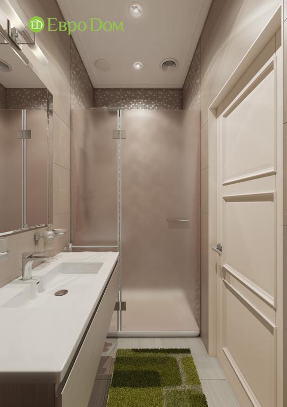 Дизайн интерьера 3-комнатной квартиры в стиле фьюжн. Фото 07