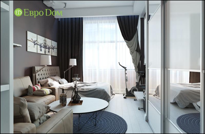 Дизайн интерьера 3-комнатной квартиры в стиле фьюжн. Фото 08
