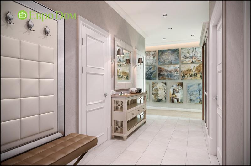 Дизайн интерьера 3-комнатной квартиры в стиле фьюжн. Фото 011