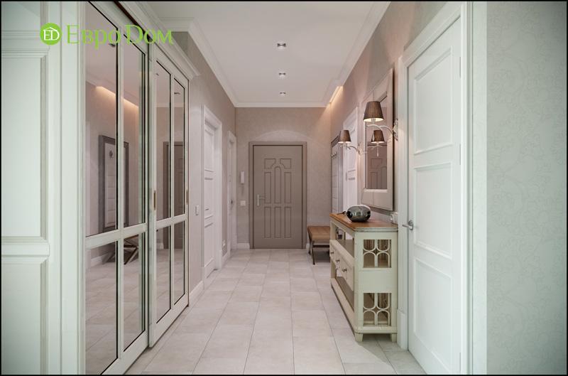 Дизайн интерьера 3-комнатной квартиры в стиле фьюжн. Фото 012