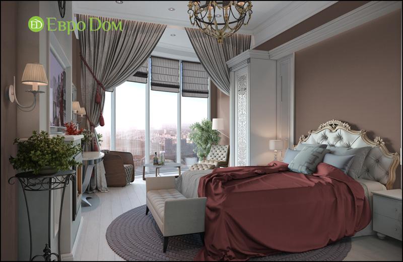 Дизайн интерьера 3-комнатной квартиры в стиле фьюжн. Фото 014