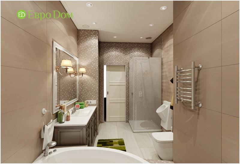 Дизайн интерьера 3-комнатной квартиры в стиле фьюжн. Фото 016