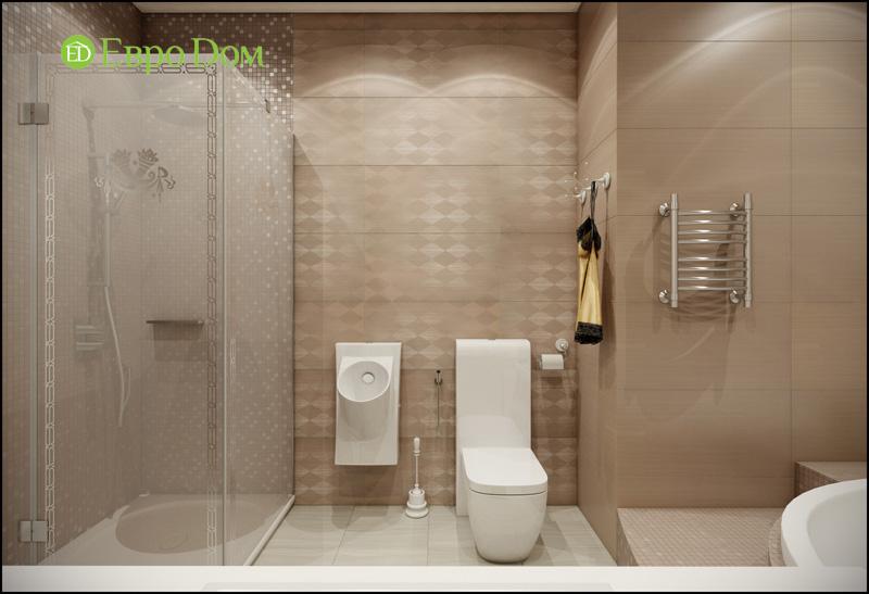 Дизайн интерьера 3-комнатной квартиры в стиле фьюжн. Фото 017